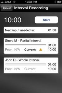 behavior tracker for iphone