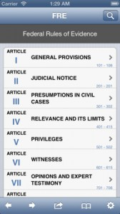 federal rules for iphone