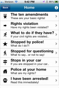 my civil rights for iphone