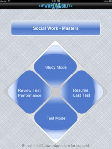 social work masters for ipad